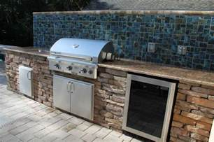 outdoor kitchen backsplash ideas exceptional outdoor kitchen brandon fl with mosaic ceramic tile kitchen backsplash and granite