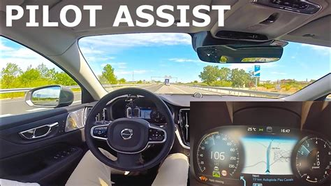 Pilot Assist Volvo 2019 Volvo V60 Pilot Assist Youtube