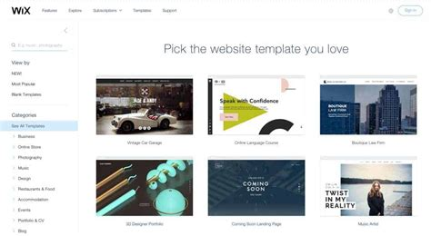wix templates is better than wix or squarespace if you are serious
