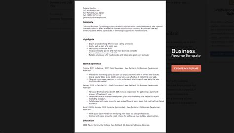 Specific Resume Templates by Best Resume Templates That Will Showcase Your Skills