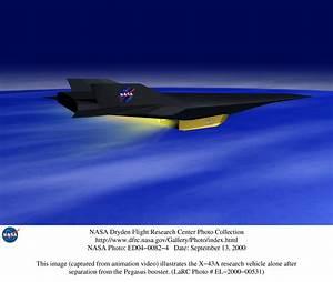 NASA - Hypersonic X-43A Scramjet Aircraft Public Domain ...
