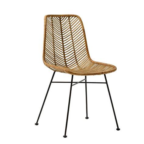 chaise rotin pas cher chaises rotin