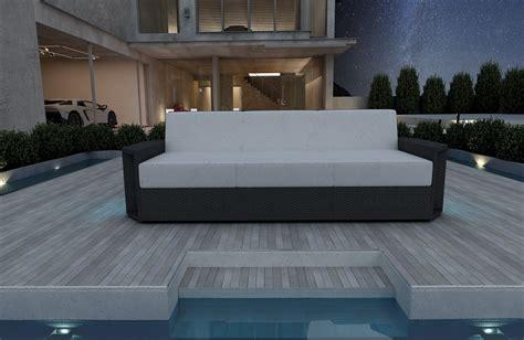divano in rattan divano a 3 posti aventador in rattan nativo mobili in rattan