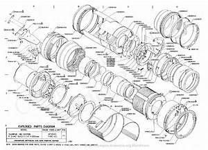 Olympus 200mm F4 0 Exploded Parts Diagram Service Manual
