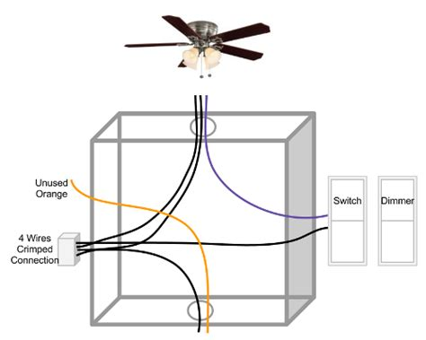 how do i wire a ceiling fan ceiling fan light and fan switches doityourself