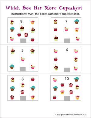 kindergarten math worksheets math pyramid