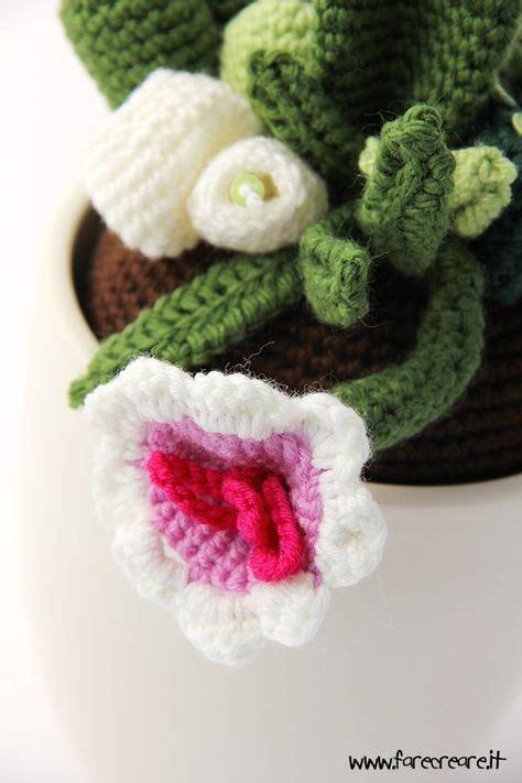 fiore uncinetto spiegazioni fiore pianta grassa spiegazioni piante grasse