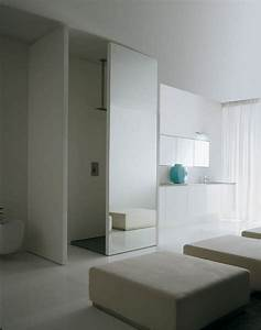 Porte Coulissante Salle De Bain : portes coulissantes pour l 39 int rieur 48 id es inspirantes ~ Mglfilm.com Idées de Décoration