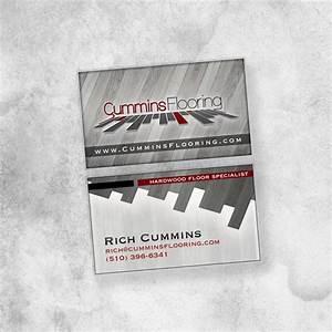 Cummins Flooring Business Card Shawn Cummins Portfolio