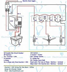 Power Inverter Wiring Diagram