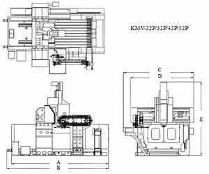 50 Taper Bridge Type Machining Centers