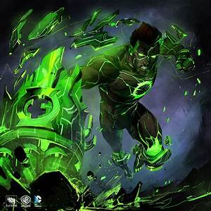 Archon Atomic Greenlantern | Video Games Artwork