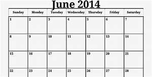 2014 calendar of june calendar With 3 month calendar template 2014