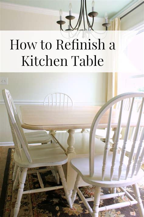 refinish  kitchen table daisymaebelle daisymaebelle