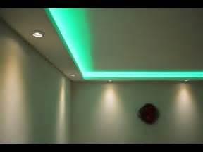 led deckenbeleuchtung wohnzimmer stuckleisten lichtprofile für indirekte led beleuchtung mit spots led bänder