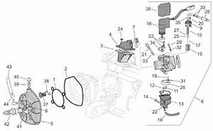 Aprilia Sr 50 Cylinder Head  Carburettor Parts H2o  Ie