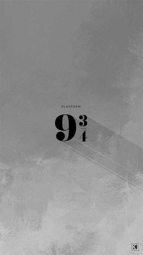 Aesthetic Home Screen Vintage Wallpaper by Platform 9 And 3 4 Minimal Aesthetic Poster Design Phone