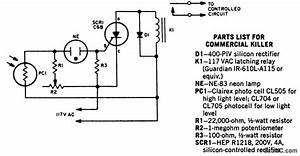 Garage Beam Photocell Circuit Diagram