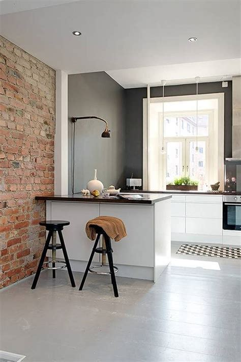 small kitchen arrangement ideas დეკორატიული და ნატურალური ქვა ინტერიერისათვის inndesign არქიტექტურა დიზაინი მშენებლობა და