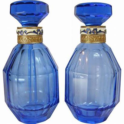 Perfume Bottles 1920 Austrian 30s Pair