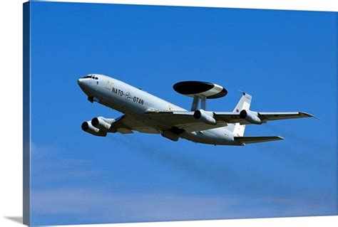 E3 Sentry AWACS aircraft Wall Art, Canvas Prints, Framed ...