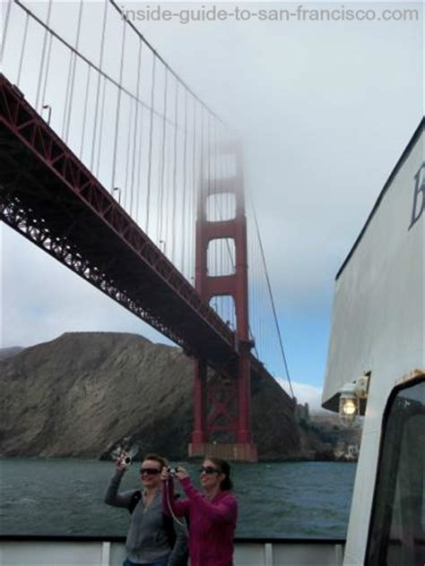 Boat Tour Under Golden Gate Bridge by The San Francisco Bay Cruises Some Insider Tips