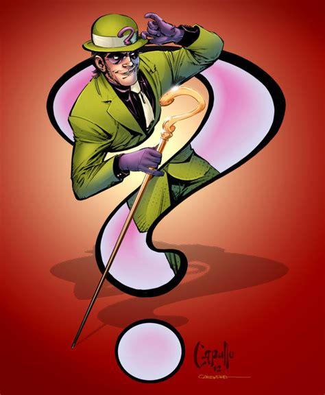 riddler character comic vine