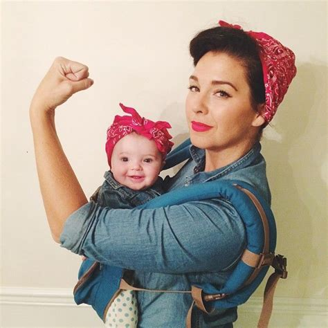 40 adorable halloween costumes for baby wearing parents
