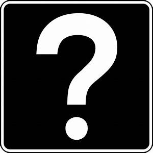 Black And White Question Mark Clipart | Clipart Panda ...