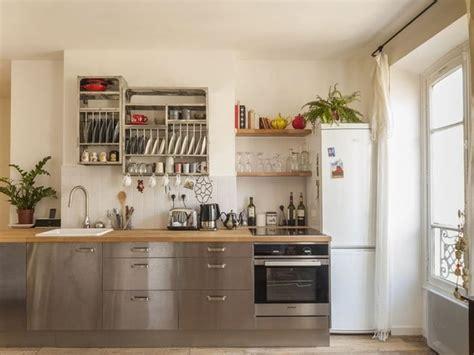 cuisine inox bois les 25 meilleures idées de la catégorie cuisine inox sur