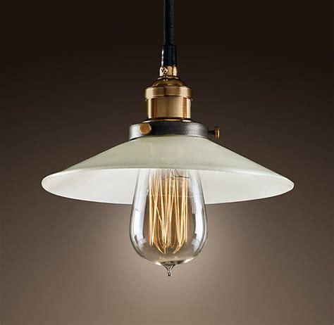 restoration hardware lights milk glass filament pendant ceiling restoration hardware