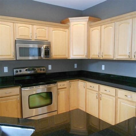 25+ Lovely Kitchen Cabinets Black Countertop