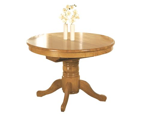 worcester round extending dining table