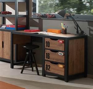 Bureau Style Industriel : bureau style industriel alex ~ Teatrodelosmanantiales.com Idées de Décoration