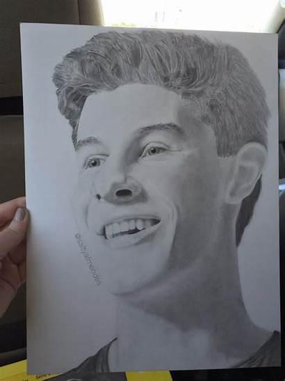 Shawn Mendes Drawings Mtv Fan Terrify Impress