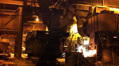 Inside a Steel Foundry - YouTube
