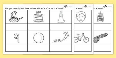ae or ie split digraph worksheet split diagraph literacy