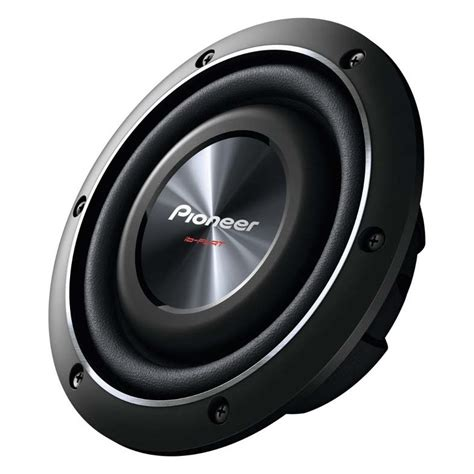 flach subwoofer auto pioneer ts sw2002d2 20 cm flach subwoofer bass mit 2ω