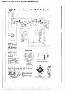 Free Download Telefunken Concertino 9u Schematic