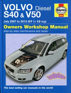 service and repair manuals 2009 volvo v50 parking system shop manual s40 v50 service repair volvo haynes book chilton ebay