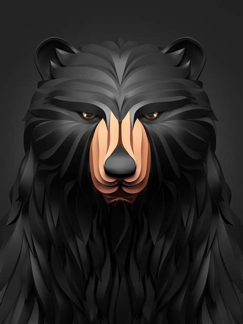 predators amazing digital art  maxim shkret