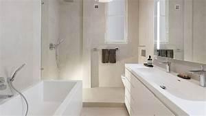 Salle De Bain Etroite : salle de bain en longueur latest salle de bain en longueur ides dcoration intrieure farik in ~ Melissatoandfro.com Idées de Décoration