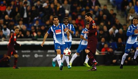 Barcelona 5 Espanyol 0: Messi hat-trick opens up four-point LaLiga advantage over Madrid