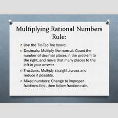 Rational Numbers Operations  Ppt Download