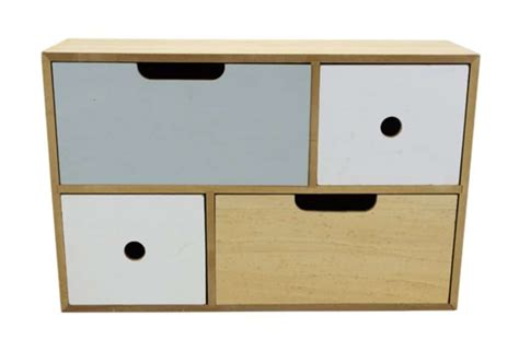 petit meuble a tiroirs en bois petit meuble en bois avec 4 tiroirs 224 6 95