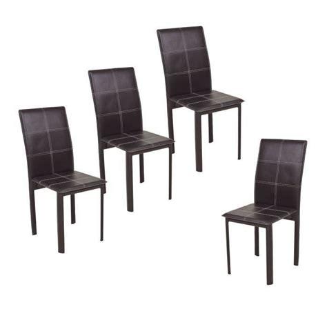 chaise de salle chaise de salle a manger simili cuir
