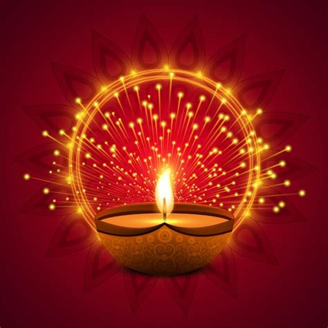 Diwali Festival Of Lights Picture by Background With Lights For Diwali Free Vector Vectorkh