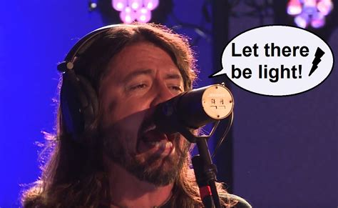 "Foo Fighters W Coverze ""let There Be Rock"" Ac/dc"