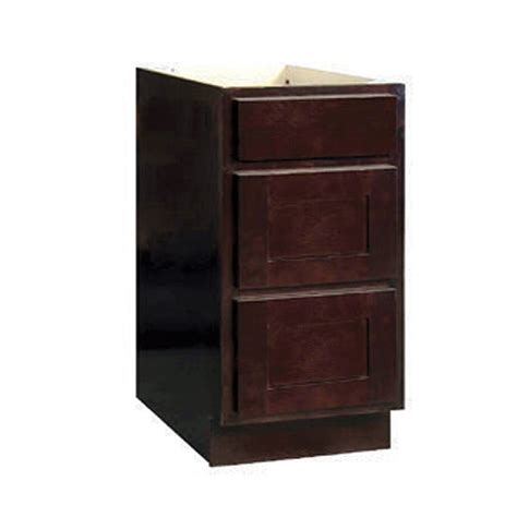 bathroom base cabinets with drawers mobile home bathroom drawer base cabinet espresso 12x34 5x24