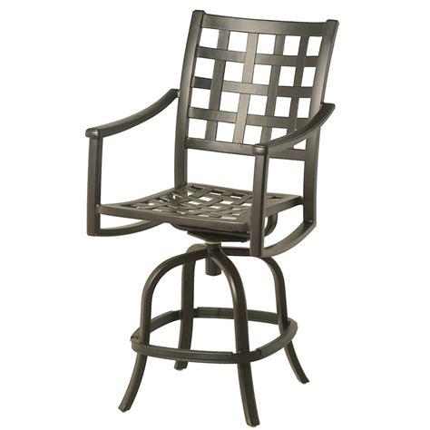 hanamint stratford swivel counter stool